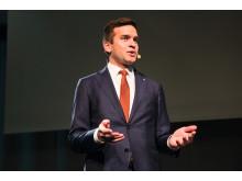 Idrottsminister Gabriel Wikström, invigningstalar på årets konferens.