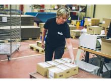 Orio Logistics packar och levererar sändningar över hela världen