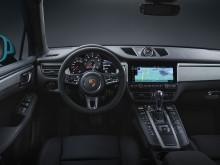 Den nye Porsche Macan interiør