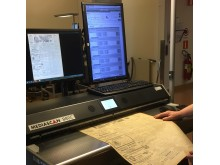 Digitalisering av Reformatorn vid Mediekonverteringscentrum (MKC), Fränsta