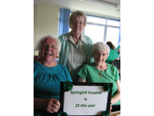 Darnhill Library goes green for hospice
