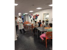 Kockduellen - deltävling på Erlaskolan i Falun