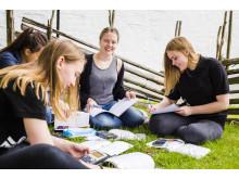 Foto: Elever på Realgymnasiet