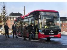 Trådløs opladning af bus