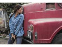Karima McAdams i Deep State, premiär på FOX den 23/4 kl 21.55.