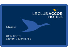 Club card Le Club AccorHotels
