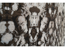Konstnär Gil Yefman – närbild av Human Tapestry