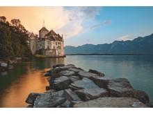 Schloss Chillon am Genfersee