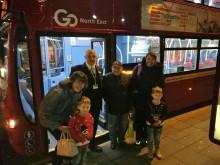 Go North East Christmas bus