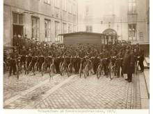 Telegrafbude med cykler