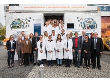 BioTechnikum in Singen: Gruppenfoto
