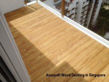 Accoya® Wood Decking ~ Perfect for Balconies and Planters
