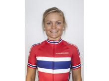 Emilie Moberg på kvinnelandslaget 2015