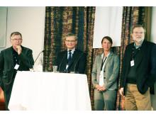 Åke Hagström, Carl-Henrik Heldin, Helene Andersson Svahn och Lars-Erik Nyström