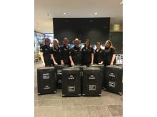 Optiker utan gränser på Arlanda inför hjälpresan till Peru 31 mars