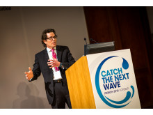 Hi-res image - OINA - Alistair Ramsden speaks at Catch the Next Wave in London