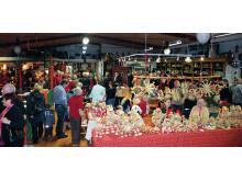 Julmarknad på Johanna Museet