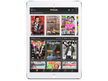 Readly on tablet (white)