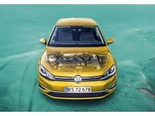 Næste generation Golf får TSI og TDI mild-hybridmotorer