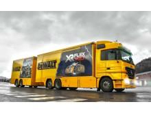 Yellow Demon Truck Closed