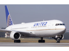 Hi-res image - Cobham SATCOM - SB-S will be evaluated on United Airlines' Boeing 767 aircraft (pictured)
