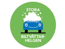Logotyp Stora biltvättarhelgen