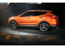 Nye Hyundai Santa Fe; venstre side