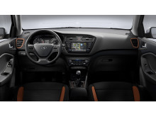Nye Hyundai i20 Coupe, dashboard