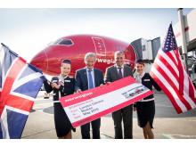Norwegian launches London Gatwick - Boston Logan