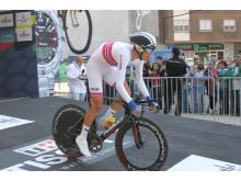 Vegard Breen under temporittet sykkel-VM 2014