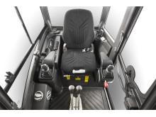 Volvo EC15D, EC18D, EC20D minigrävare - hytt