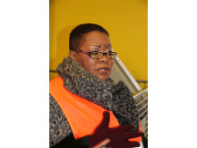 Councillor Zukiswa Ncitha Executive Mayor från Buffalo city på studiebesök hos Gästrike återvinnare