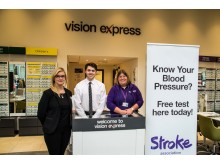 Two advised to see GP as Whiteley opticians offers free blood pressure checks