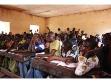 Filmvisning om malaria i Mali