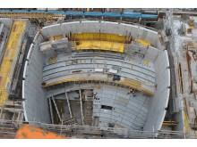 KKM Kraftwerk Mitte Dresden, Stahlbetonwände