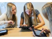 Smedingeskolans elever jobbar dagligen med Ipad