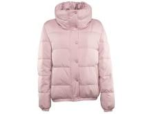 Everest W Short Quilt Jkt_Pink