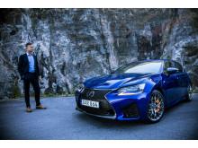 Dick Zachrisson,  nytillträdd chef för Lexus i Sverige