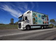 Axfood först med nya gaslastbilar