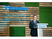 Panasonic Asia Pacific Managing Director Junichiro Kitagawa Gives Speech