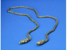 Guldkæde fra vikingetid fundet tilbage i 1911