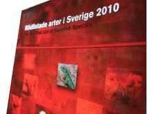 Rödlistade arteri Sverige
