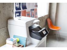 HP OfficeJet Pro i kontormiljø