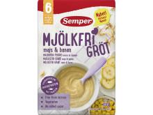 Nytt recept på Mjölkfri gröt 6M