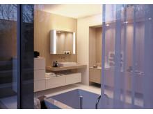 RL40 Room Light-Spiegelschränke von burgbad bringen eine neue Beleuchtungsqualität ins Bad