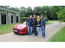 Mit dem Porsche unterwegs – Gentlemen's Cup 2014