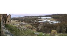Besøgscentret set fra Hammershus