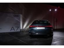 Den nye Audi A7 Sportback ved verdenpremieren i Ingolstadt 19. oktober 2017