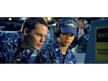 Rihanna och Taylor Kitsch i Battleship