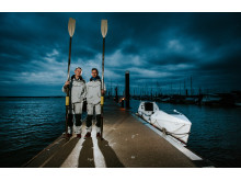 Hi-res image - Ocean Signal - Ocean Brothers, Jude Massey (left) and Dr Greg Bailey